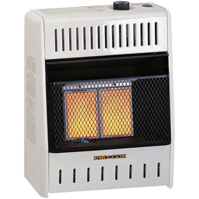 Procom Natural Gas Ventless Infrared Heater 10 000 Btu