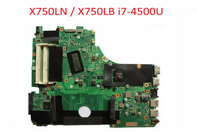 For ASUS X750LN X750LA X750L Motherboard i7-4500U CPU GT740M 2GB Mainboard