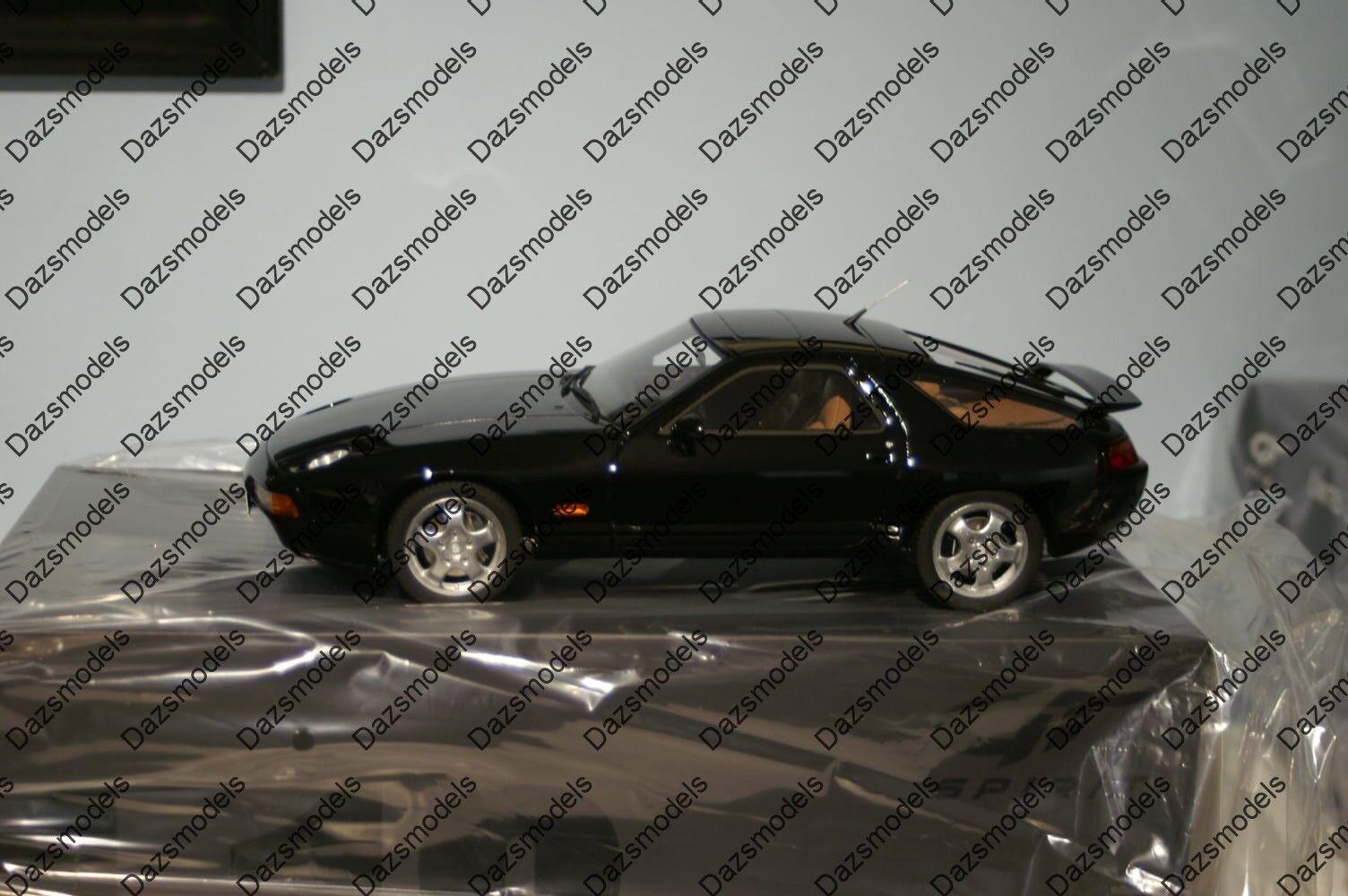 GT Spirit Porsche 928 GTS noir 1 18 Résine GT738