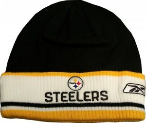 Pittsburgh Steelers Reebok NFL Authentic Coaches Cuff Knit Hat