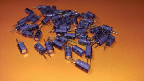 50x Elko 2,2µf//50v 105 ° C 3,5x8mm Lelon 2,2uf