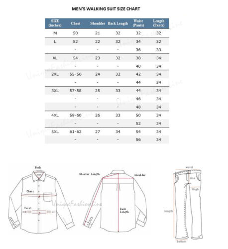 Men/'s summer 2-pc walking suit Short Sleeve Shirt and Long Pants Lime 2956