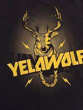 Yelawolf Rapper T Shirt  L Large Rap Hip Hop Shady Records  Radioactive Atha