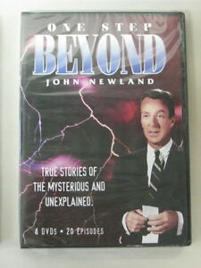 ONE-STEP-BEYOND-John-Newland-4-DVD-Set-20-Episodes-NEW-Sealed