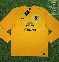 Everton Goalkeeper Shirt - Official Nike Efc Football Gk Jersey - All Sizes