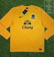 Everton Goalkeeper Shirt - Official Nike Efc Football Gk Jersey - All Sizes