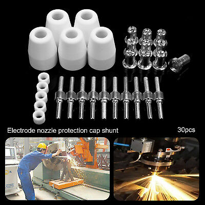 40pcs PT 31 LG 40 Air Plasma Cutters Cutting Torch Accessories KIT Nozzles TIPS