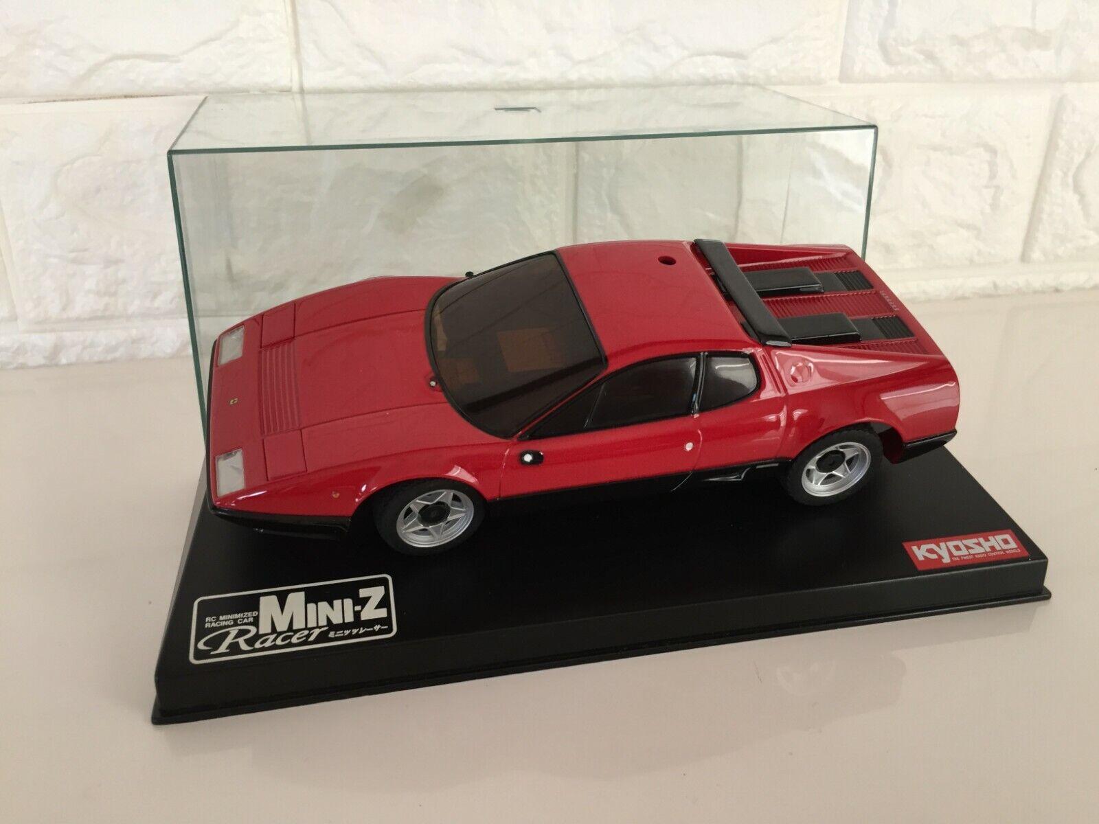 SUPER Rare Kyosho MINI-Z Racer corpo Ferrari rosso  512BB from JAPAN f s  molte concessioni