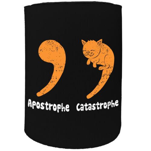 Stubby Holder-Apostrophe catastrophe-Funny Novelty Birthday Poison Joke Beer
