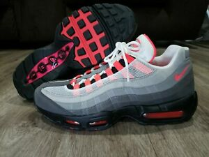 Details about Nike Air Max 95 OG Solar Red Men's Running Shoes AT2865 100 Size 11