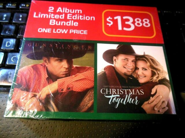 Garth Brooks Christmas Album.Garth Brooks 2 Cd Limited Edition Bundle Gunslinger And Christmas Together Album