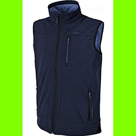 CMP campagnolo campagnolo Softshell Weste 3A02087N- col 52AA Blau-60  | Kompletter Spezifikationsbereich
