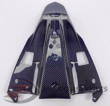 2009-2014 R1 Rear Under Tail Tray Lower Cowling Fairing 100% Carbon Fiber Blue