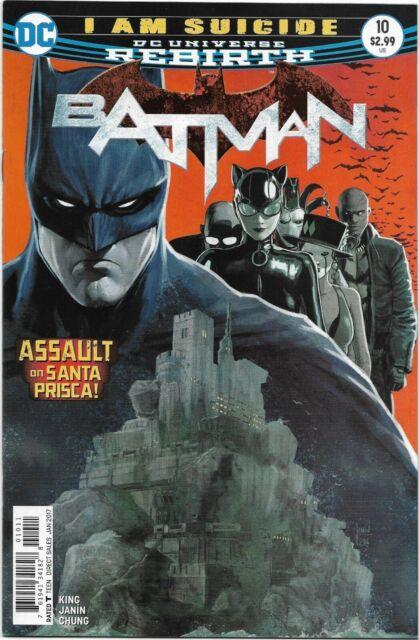 Batman (Rebirth) #10 - VF/NM - I Am Suicide / Bane