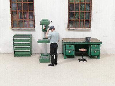 MSM Fräsmaschine Spur 1 für Werkstatt 1:32 Lokschuppen usw. Fertigmodell