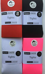 5500b8ff4d3aa Extra Large & Extra Extra Large Footless Tights-22 Colrs-Plus Size ...