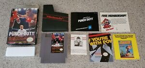 Mike-Tyson-039-s-Punch-Out-Nintendo-NES-Punchout-Boxing-Game-Complete-Letter-CIB-Lot