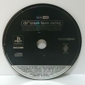 Crash-Team-Racing-Promo-Copy-Playstation-ps1-Full-Game-Top-Zustand
