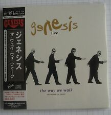 GENESIS - Live The Way We Walk Volume One The Shorts JAPAN MINI LP 2CD NEU RAR!