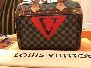 d574a188d7ee Image is loading LOUIS-VUITTON-TIME-TRUNK-SPEEDY-BANDOULIERE-25-NIB