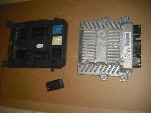 kit demarrage PSA 1400 hdi siemens (bsi calculateur clé)  (ref 1113)