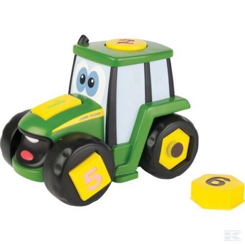 Ertl Johny Tractor aprender /& Juego Juguete edad 3+