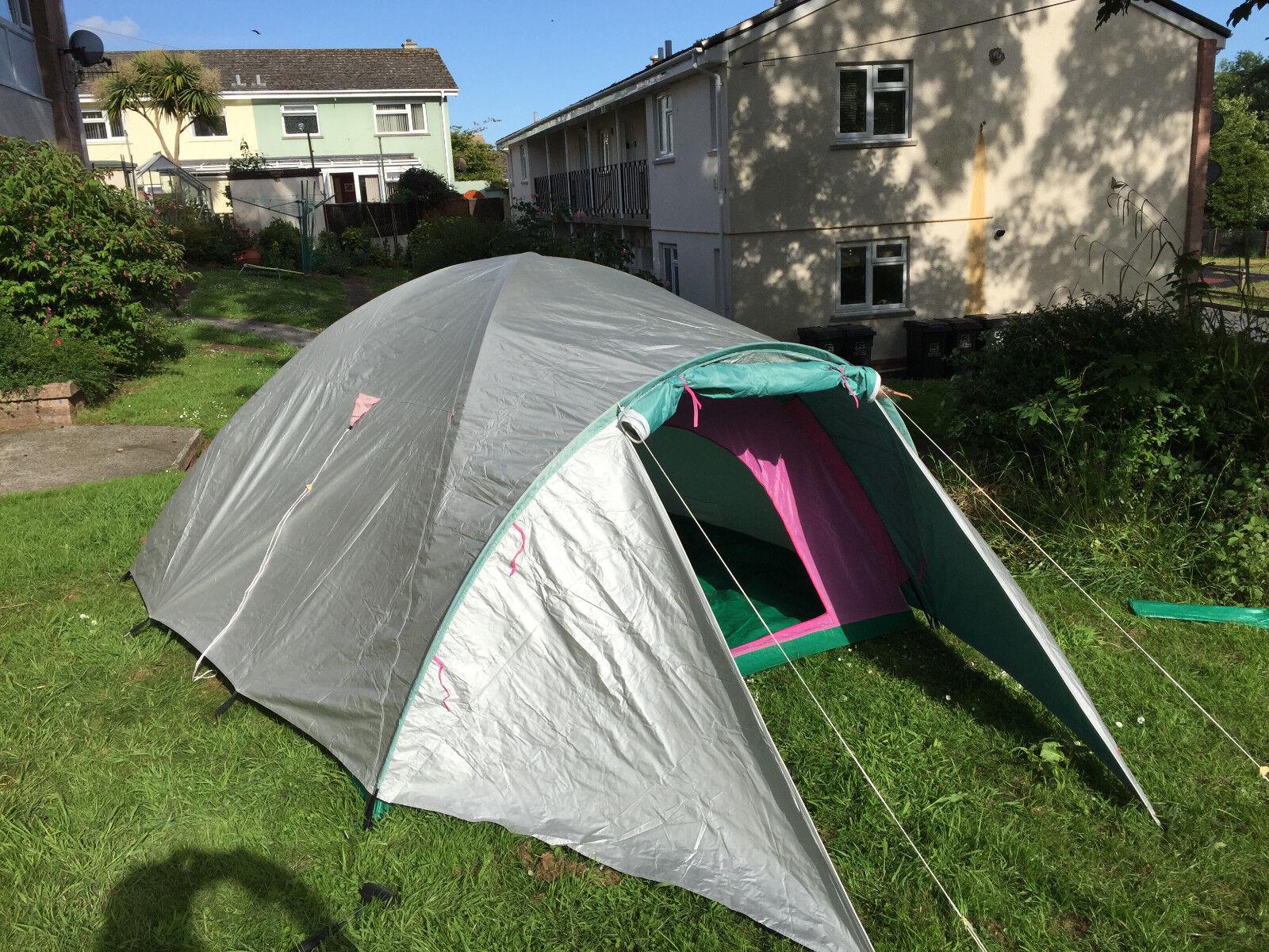 TRIGANO VERDON 5 person tent up to 5 medium Größe Adults Mint Condition