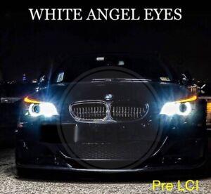 BMW E60 E61 PRE LCI LED XENON WHITE ANGEL EYE HALO RING LIGHT BULBS