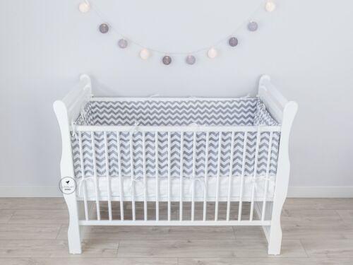 Bettumrandung Kopfschutz Nestchen 420 360,180 Baby Bettnestchen 9 Muster LOOLAY