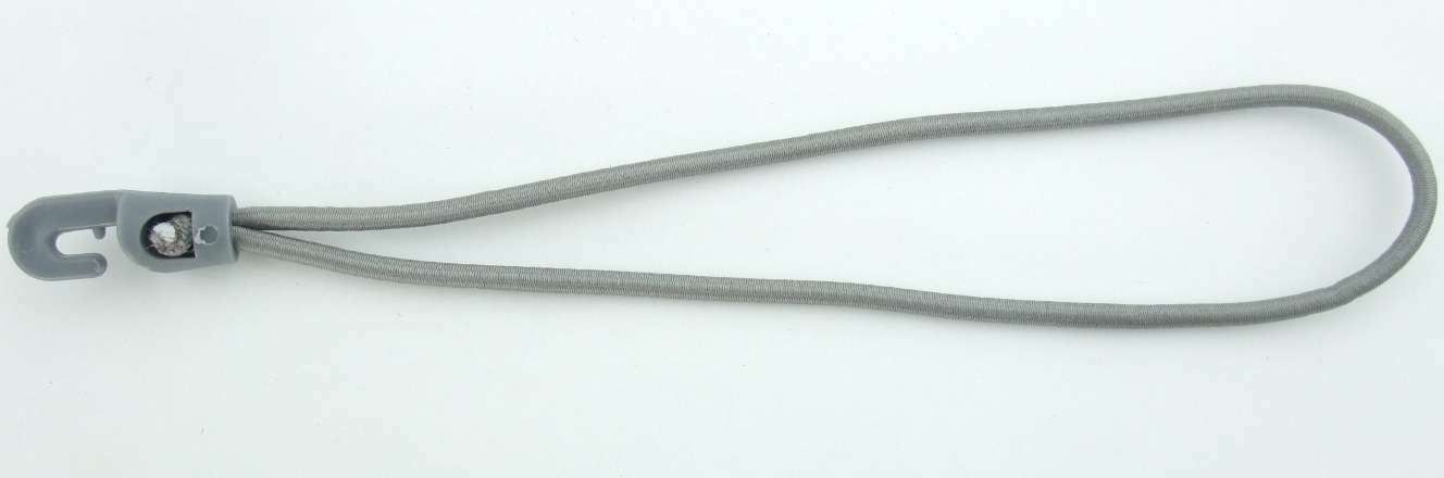 50 Holdon Universal-MINI-Clip & & Universal-MINI-Clip Spannfixe 25x4cm grau Klemm-Ösen Spann-Klammern b7dc23