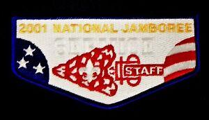 2001-BOY-SCOUT-BSA-JAMBOREE-ORDER-OF-THE-ARROW-2017-OA-STAFF-SERVICE-FLAP-TUFF