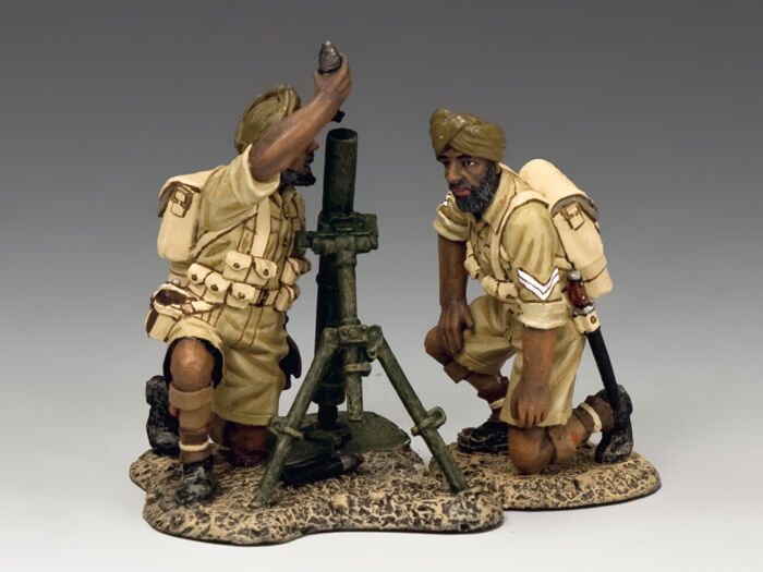 EA103 Sikh Mortar Team av King & Country
