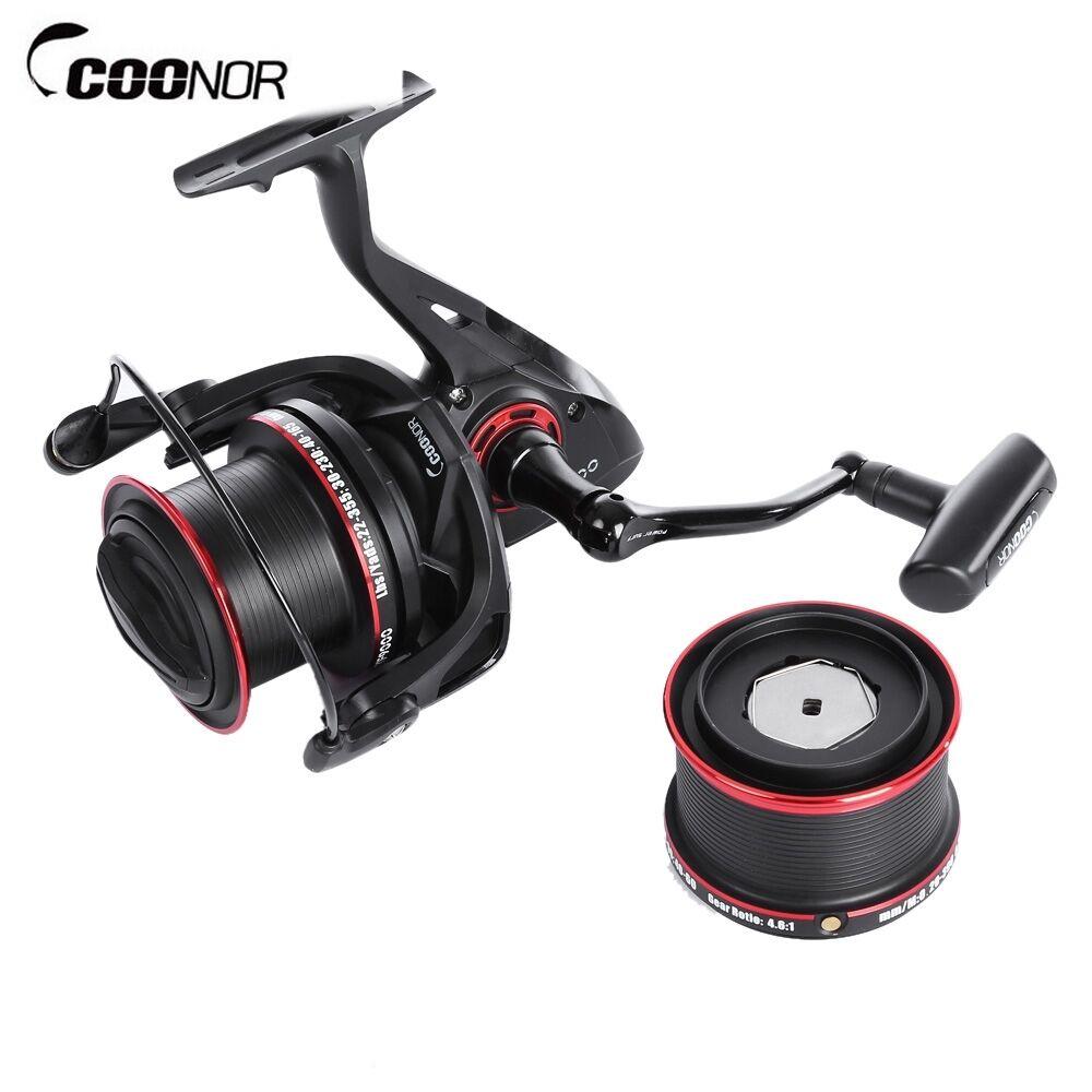 COONOR 11+2 Ball Bearings Metal Spool Spinning Spinning Spinning Fishing Reel 4.6:1 YF8000+YF9000 eb0133