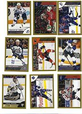 LOT OF 29X 2013-14 Score Gold Hedman + HOLBY+ ST.LOUIS+BRENT BURNS+PHANEUF