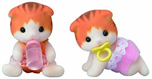 Epoch Calico Critters Twins of dolls maple cat
