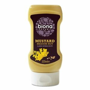 Biona-Organic-Mustard-Medium-Hot-Classic-German-NAS-4-weeks-life-320ml
