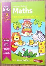 Libro de actividad del año 1 Matemáticas Educativo Casa libro del aprendizaje niños mayores de 5 6