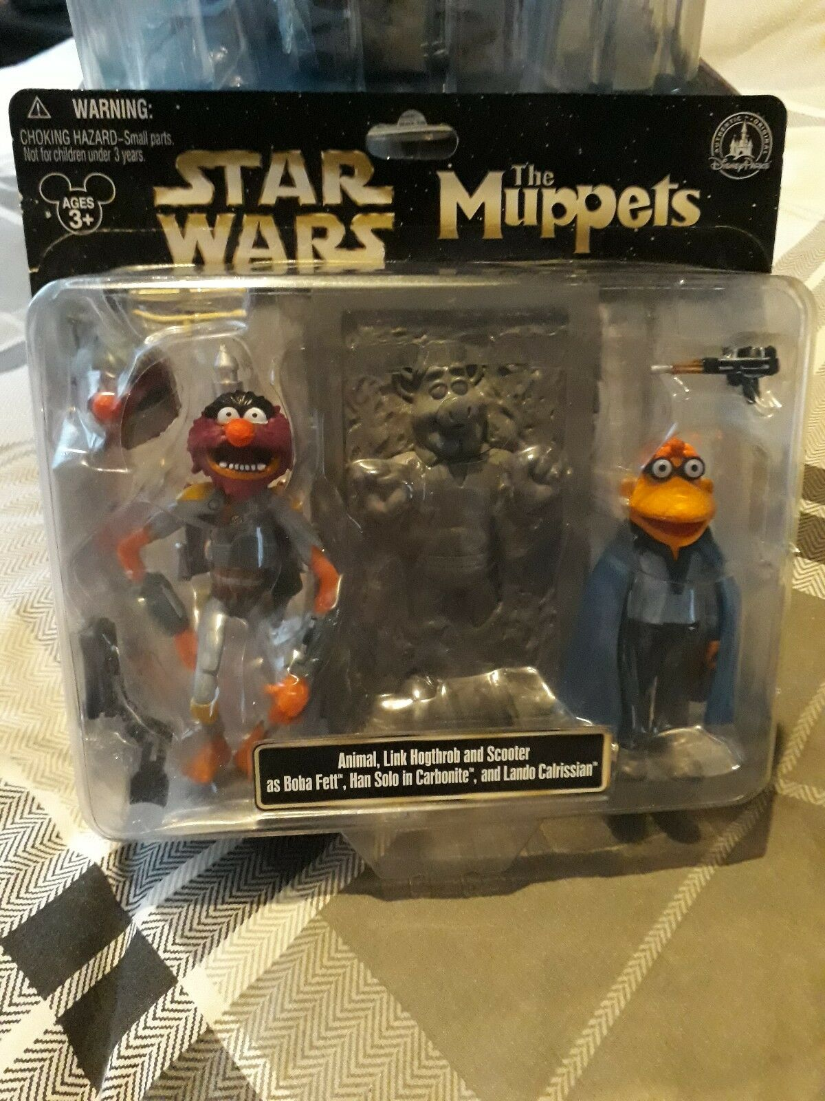 Star Wars Muppets Animal, Scooter And Link Muppet Set