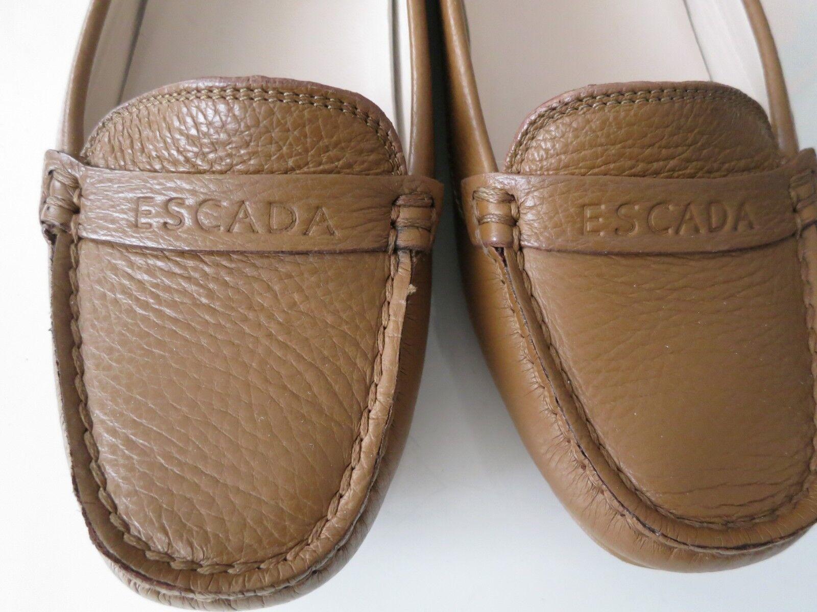 ESCADA, ESCADA, ESCADA, Slipper, braun, NP  , NEU, Echt Leder, EUR 38, Absatz 1 cm aa66f1
