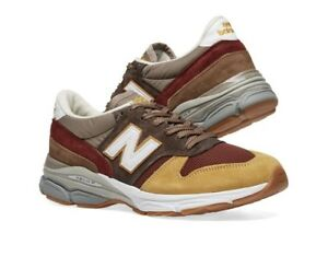 sale retailer 82e29 1f3b6 Image is loading New-Balance-7709FT-Solway-Gold-Brown-DS-Sz-