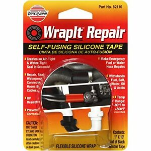 "Versachem 82110 WrapIt 1"" x 10' Repair Silicone Tape"