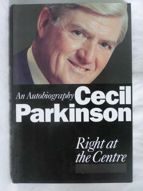 Right at the Centre: An Autobiography, Parkinson, Cecil, Excellent Book