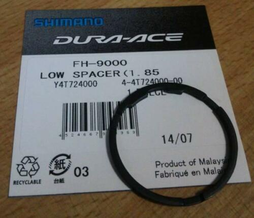2x Shimano DuraAce CS9000 11Spd Cassette Spacer 1.85mm Y4T724000