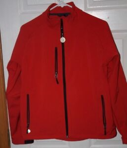 StormTech-Performance-Jacket-M-Red-Black-Lining-Microsoft-Circle-of-Excellence