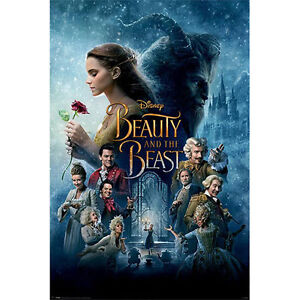 Beauty-And-The-Beast-Transformation-POSTER-61x91cm-NEW-Belle-Emma-Watson
