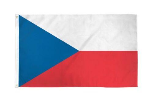 République Tchèque Drapeau Poly 2X3ft