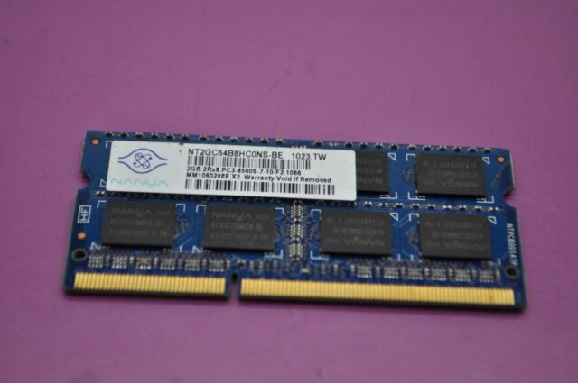 Nanya 2GB 2Rx8 PC3-8500S NT2GC64B8HC0NS-BE -27E