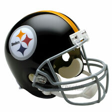 PITTSBURGH STEELERS 63-76 THROWBACK NFL FULL SIZE REPLICA FOOTBALL HELMET