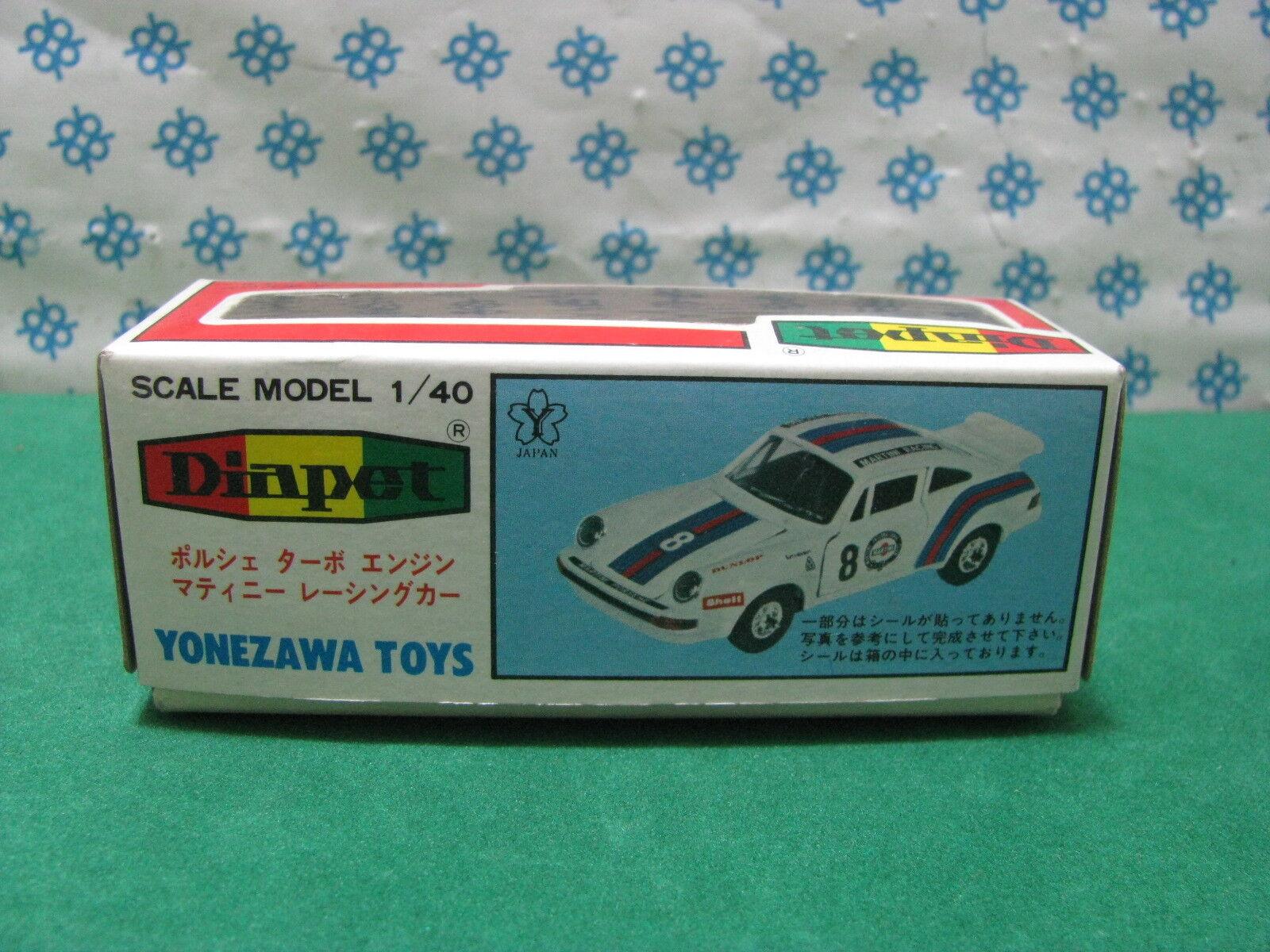 Box Box For for Porsche 911 Turbo Martini - 1 40 Diapet-Yonezawa Toys