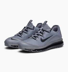 8788a16eb5 NIB Nike Air Max More Men Running Training Shoes Grey Black 898013 ...